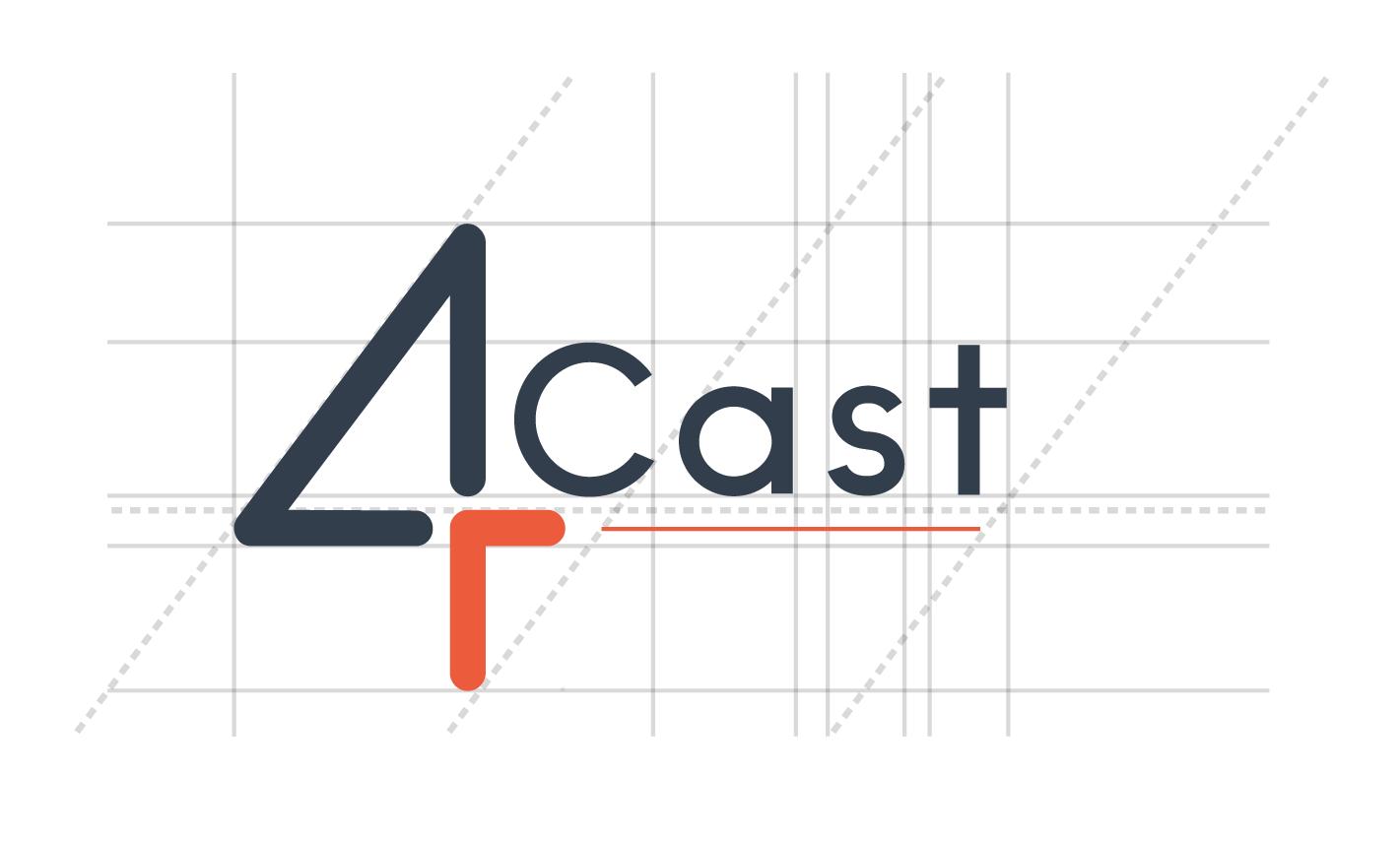 Logotype-Typographie