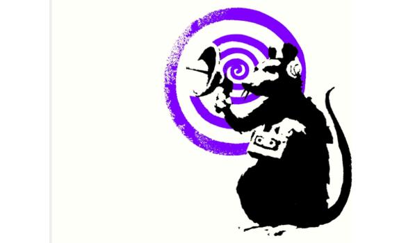 Rat_Banksy_violet